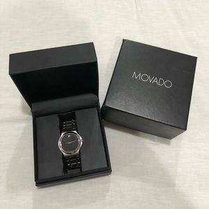 Men's Movado Corporate Exclusive watch(worm twice)